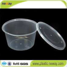 Lancheira descartável de plástico para micro-ondas