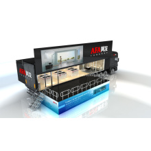 40ft publicité LED Semi remorque