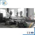 Gránulo plástico de Masterbatch / PVC del negro de carbón de la alta calidad que hace la máquina