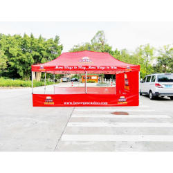 Pop up tent /10x10ft oxford banner for tent