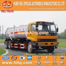 Technologie japonaise FVZ cab 6x4 aspirateur et camion de lavage sous pression 280HP