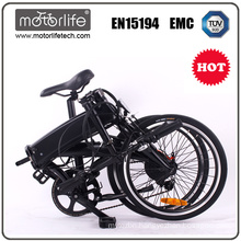 MOTORLIFE/OEM EN15194 fair price folding electric bicycle,/24v pedelec electric bike/best seller high quality