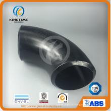 Каротажные углеродистая сталь локоть к ASME B16.9 стальные трубы фитинги (KT0019)