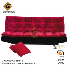 Red Fabric Living Room Sofa (GV-BS119)