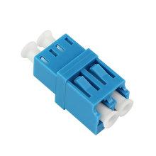 Adaptador frente e verso da fibra óptica de Singlemode do LC / UPC com flange