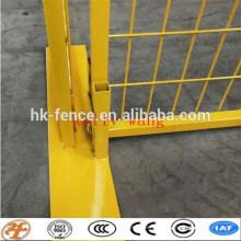 Australie / Canada / Amérique standard soudé temprary clôture stands béton usine