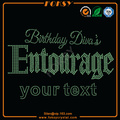 Brithday Divas Entourage Su texto hot fix motif