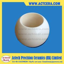 Dn100 99 % Al2O3/Aluminiumoxid Keramik Kugelhähne