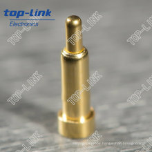 SMT Pogo Pin with Single Contact, Spring Loaded, Gold Plated