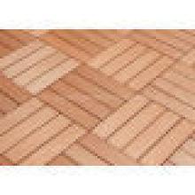 Сад дизайн в WPC Сделай сам настил плитки деревянный пластичный составной настил