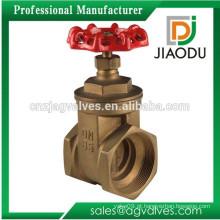 """De boa qualidade 1 polegada ou 2 """"polegadas ou 3 polegadas 200 wog pn10 pn16 ou pn20 com ferro manivela f / f torneira de água forjada válvula de porta de latão"""