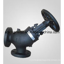 Cast Iron DIN Standard Resilient Seat Globe Valves