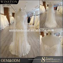 Vestidos de novia Nuevo 2017 Sweetheart Neckline vestido de novia