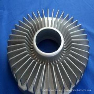 Impulsor de turbina de colada de inversión de precisión de acero inoxidable (piezas de mecanizado)