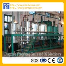 Ligne de raffinage de l'huile de graine de tournesol en acier inoxydable