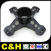 Personalizado Anodizado alumínio / aço inoxidável / plástico / latão precisão CNC usinagem moagem peças