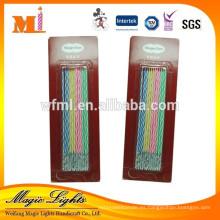 Velas decorativas delgadas