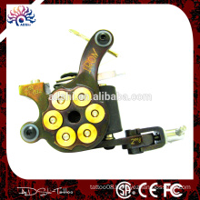 10 wrap coils Iron frame tattoo machine gun for professional tattooist iron casted machine
