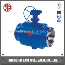 Chemical float ball valve