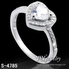 Fashion 925 Sterling Silver Lady′s Love Ring (S-4785)