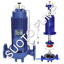 Bomba de amoníaco líquido vertical sin fugas