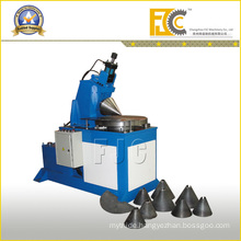 Hydraulic Metal Cone Rolling Machine by Sheet Funnel
