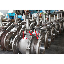 API Forging Ss CS Worm Gear Ball Valve with Good Quality and Good Price