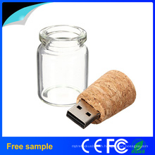 Promotional Gift Glasses Bottle USB Flash Drive
