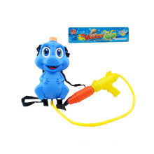 Plastic Blue Cartoon Backpack Water Gun Toys with 3c Approval