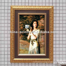 Shabby Wooden frame of canvas prints