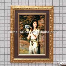 Shabby Frame de madeira de impressão em tela canvas