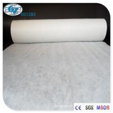 Telas não tecidas viscosas de Shanghai Spunlace para a matéria prima da limpeza do bebê, 30-100gsm