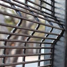 Dilas pagar Mesh Clear View Fence
