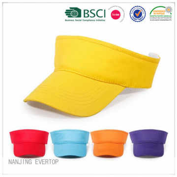 Custom Blank Colorful Visor Cap For Promotion