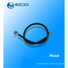 Water Purifier Spare Parts 100mm Rubber / Pvc Hose For Eu / Usa 32mm Conector