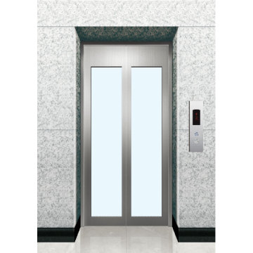 Elevador cristal puerta de aterrizaje
