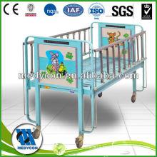 luxurious castor Pediatric hospital children beds