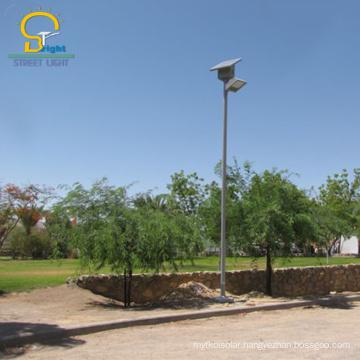6m 30 watt led street lamp solar