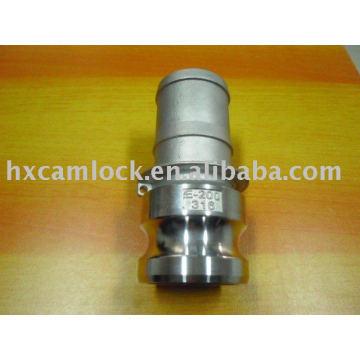 SS316 Hose Shank Adaptor camlock coupling