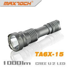 Maxtoch TA6X-15 Cree U2 LED 1000 lúmen IPX8 1 * 18650 lanterna Led de U2