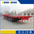 Chinese Low Flatbed Truck Semi Trailer Low Boy Truck Trailer