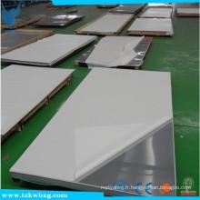 GB / T 14976 plaque en acier inoxydable AISI 304L à haute quantité et décapée