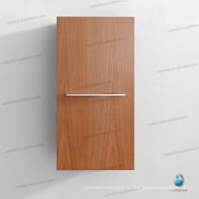 Nuevo gabinete de lino de madera montado en la pared, gabinete lateral