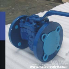 Cast Steel RF Flanged FEP/PTFE/PFA Full Iined Plug Valve