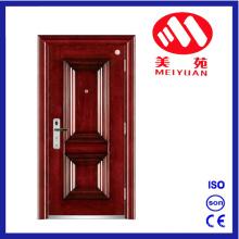 Puerta de acero contra incendios con alta calidad, mejor diseño, fábrica de puerta de exportación con certificado