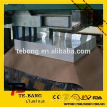 1060/1100/3003/5052/5083/8011 prix en feuille d'aluminium