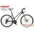 Bicyclette hybride en alliage de roue 700 C avec vitesse Shimano 21 (AP-70017)