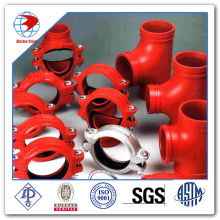 """UL FM Approved 1""""-12"""" Ductile Iron Grooved Fittings Pipe Fittings China Grooved Fittings"""