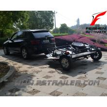 Doppelte Fahrräder Faltung Stil Anhänger MT502 für Motorrad
