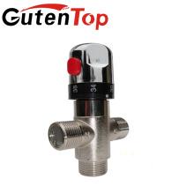 Válvula mezcladora termostática de latón Válvula mezcladora termostática de latón